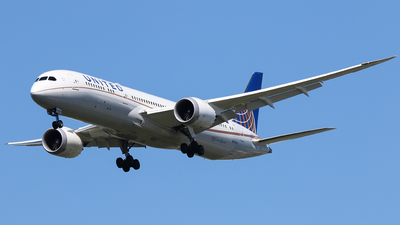 N27957 - Boeing 787-9 Dreamliner - United Airlines