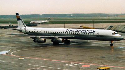 N25UA - Douglas DC-8-61 - Trans International Airlines (TIA)