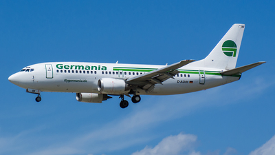 D-ADIH - Boeing 737-3Y0 - Germania