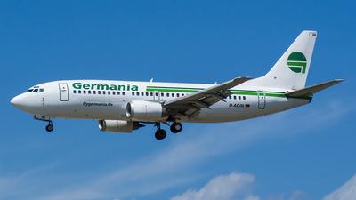 D-ADIH - Boeing 737-3Y0 - Germania