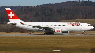 HB-IQI - Airbus A330-223 - Swiss