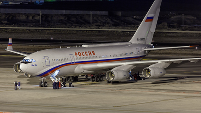 A picture of RA96022 - Ilyushin Il96300 -  - © Javier de la Cruz - AirTeamImages