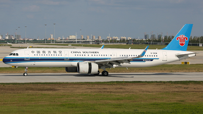 A picture of B303W - Airbus A321271N - China Southern Airlines - © SEN BAI