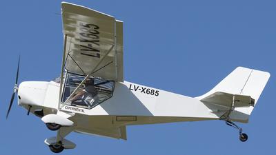 LV-X685 - Homebuilt Aircraft Facil MS 1/3 - Private