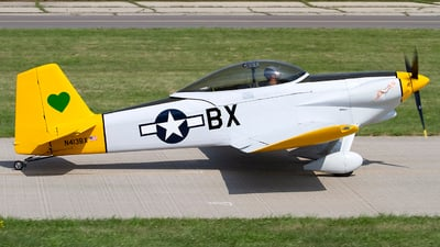 N413BX - Vans RV-4 - Private