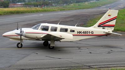 A picture of HK4851G - Piper PA34220T Seneca III - [348133190] - © Esteban Cristancho