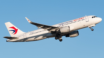 A picture of B1029 - Airbus A320214 - China Eastern Airlines - © AndySpotter