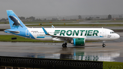 N382FR - Airbus A320-251N - Frontier Airlines