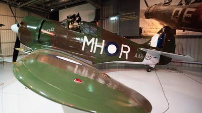 VH-MHR - CAC CA-13 Boomerang - Temora Aviation Museum