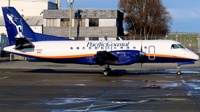 C-GPCQ - Saab 340A - Pacific Coastal Airlines