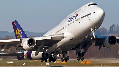 HS-TGN - Boeing 747-4D7 - Thai Airways International
