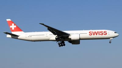 A picture of HBJNA - Boeing 7773DE(ER) - Swiss - © NRT Spotter
