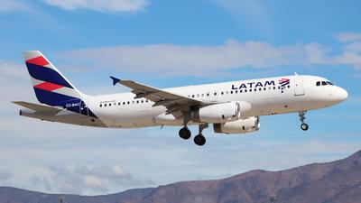 A picture of CCBAC - Airbus A320233 - LATAM Airlines - © Claudio Pérez SpotterPrado