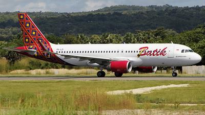PK-LZI - Airbus A320-214 - Batik Air