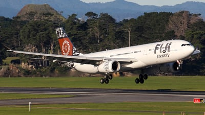 A picture of DQFJW - Airbus A330343 - Fiji Airways - © Ernest Leung