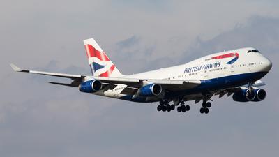 G-CIVJ - Boeing 747-436 - British Airways