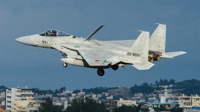 22-8931 - McDonnell Douglas F-15J Eagle - Japan - Air Self Defence Force (JASDF)