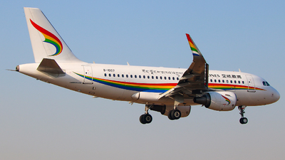 B-1007 - Airbus A319-115 - Tibet Airlines