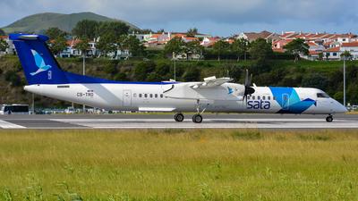 A picture of CSTRD - De Havilland Canada Dash 8400 - SATA Air Acores - © César Silva - Azores