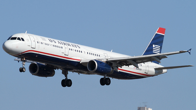 N524UW - Airbus A321-231 - US Airways