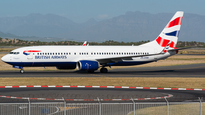 ZS-ZWM - Boeing 737-8KN - British Airways (Comair)