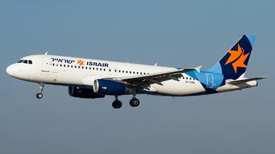 4X-ABG - Airbus A320-232 - Israir