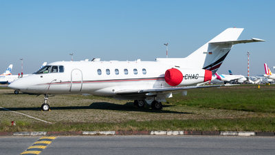 D-CHAC - Raytheon Hawker 750 - Private