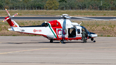 A picture of MM81897 - AgustaWestland AW139CP -  - © Enzo Gattullo - Plane Spotters Bari