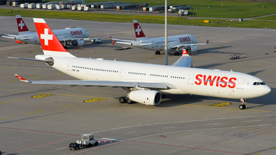 A picture of HBJHN - Airbus A330343 - Swiss - © Cesa