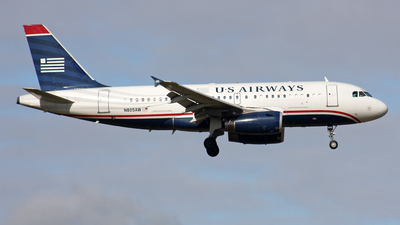 N805AW - Airbus A319-132 - US Airways