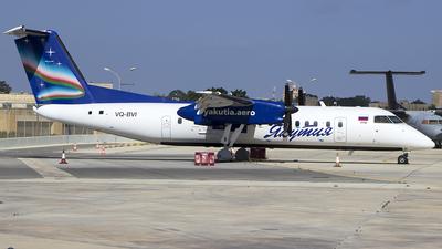 A picture of VQBVI - De Havilland Canada Dash 8300 - Yakutia Airlines - © Matthew.S