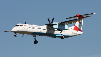 OE-LGG - Bombardier Dash 8-Q402 - Austrian Arrows