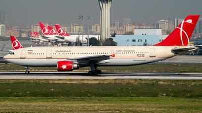 EP-FQK - Airbus A300B4-605R - Qeshm Air
