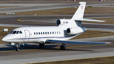 TC-SHU - Dassault Falcon 900DX - Private
