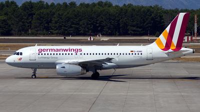 D-AGWX - Airbus A319-132 - Germanwings