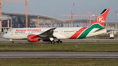 5Y-KZD - Boeing 787-8 Dreamliner - Kenya Airways