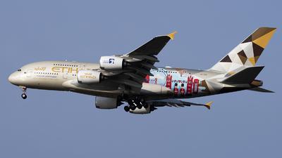 A picture of A6APC - Airbus A380861 - Etihad Airways - © Jose R. Ortiz