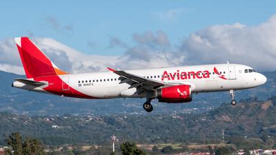 N494TA - Airbus A320-233 - Avianca