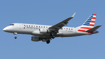 A picture of N122HQ - Embraer E175LR - American Airlines - © DJ Reed - OPShots Photo Team