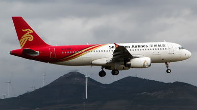 B-6780 - Airbus A320-232 - Shenzhen Airlines