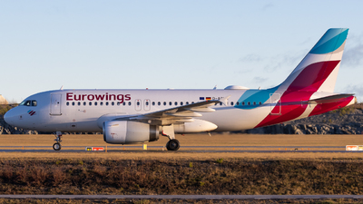 A picture of DAGWG - Airbus A319132 - Eurowings - © Rickard Andersson