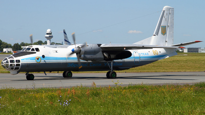 80 - Antonov An-30B - Ukraine - Air Force