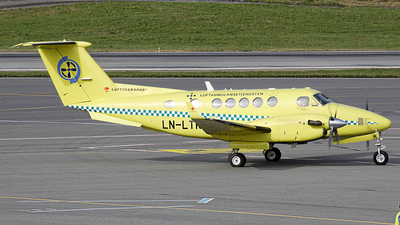 LN-LTK - Beechcraft 200 Super King Air - Lufttransport