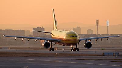 A picture of DAZMK - Airbus A300B4622R(F) - DHL - © Georgi Vatafov