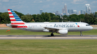 A picture of N110UW - Airbus A320214 - American Airlines - © Yan777