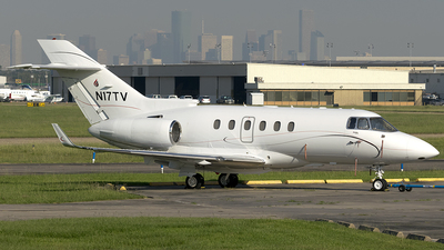 A picture of N17TV - Hawker 800XP - [258622] - © Brad T