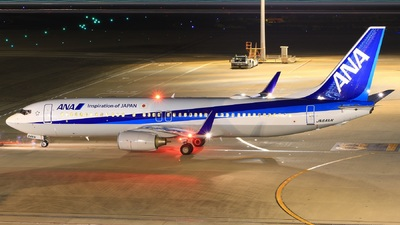 JA64AN - Boeing 737-881 - All Nippon Airways (ANA)