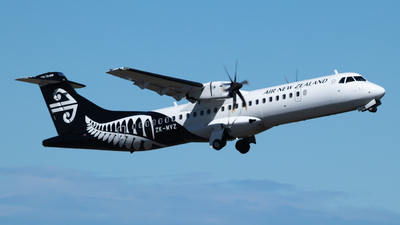 ZK-MVZ - ATR 72-212A(600) - Air New Zealand