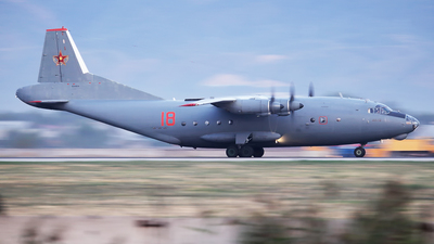 18 - Antonov An-12 - Kazakhstan - Air Force