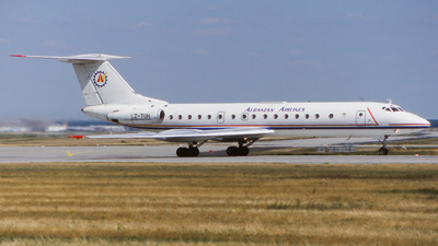 LZ-TUH - Tupolev Tu-134A - Albanian Airlines